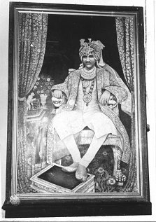 HH Raja Anand Chandji of Bilaspur
